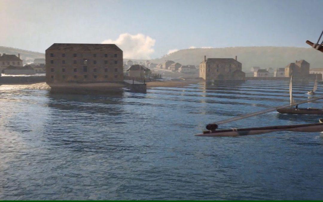 Virtual Hobart Town